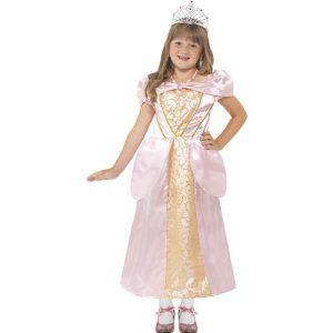 Costume enfant princesse coquette - maquillage